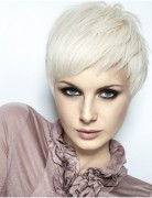 Straight, Layered Razor Pixie Haircuts, Smooth Short Hair