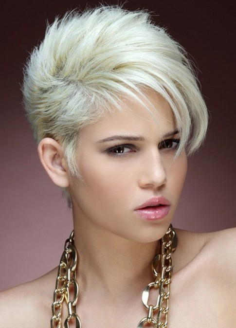 Picture of Ultra-Short Hairstyles, Pixie Haircut/Tumblr