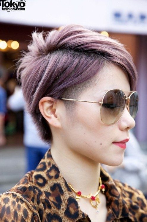 Undercut and Edgy, Short Hair | PoPular Haircuts