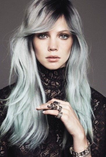 Lovely Edgy Hairstyles For Long Hair 2013 2014