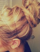 Fishtail Bun, Braid Updos