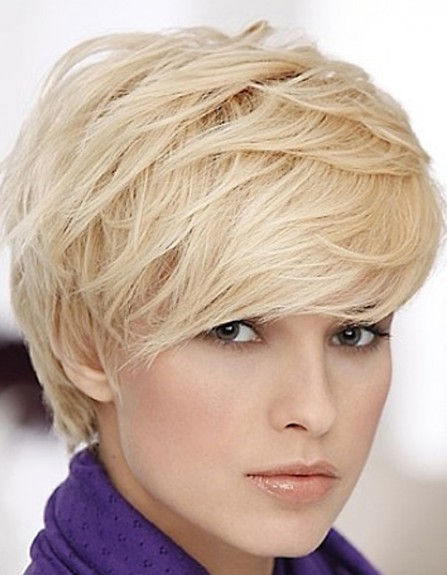 Pics Photos - Short Pixie Layered Haircuts For Women Over 40