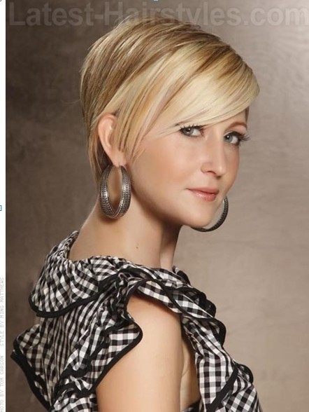 New Summer Hairstyles for Short Hair, Straight Haircut