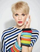 Pixie Haircuts, Short and Blonde