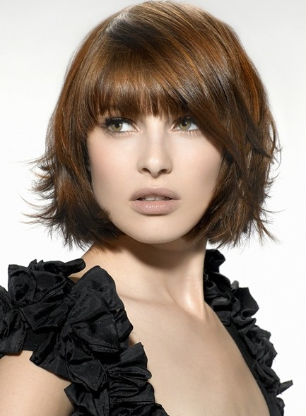 Stylish Straight Hairstyles for Short Hair