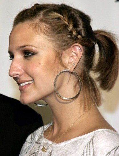 Summer Braided Hairstyles for Short Hair