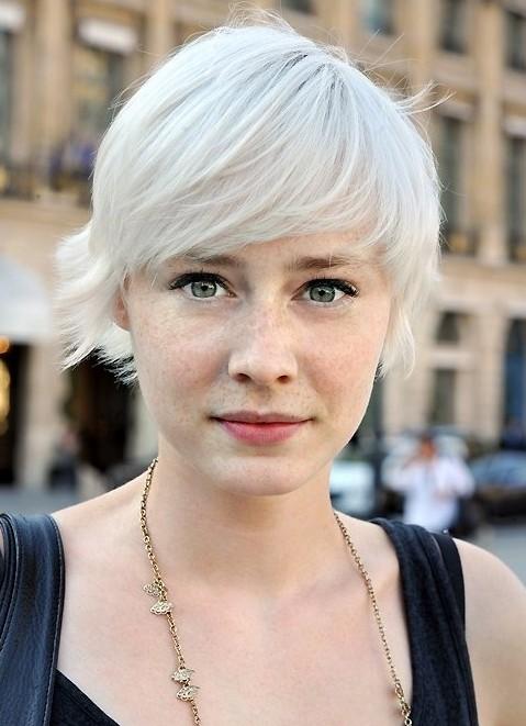 Summer Hairstyles for Short Hair,Blonde Haircut