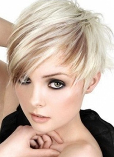 Asymmetrical Pixie Haircut Short Hair PoPular Haircuts