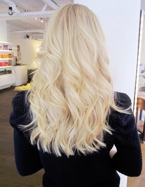 Blunt Hairstyles Long Wavy Hair Popular Haircuts
