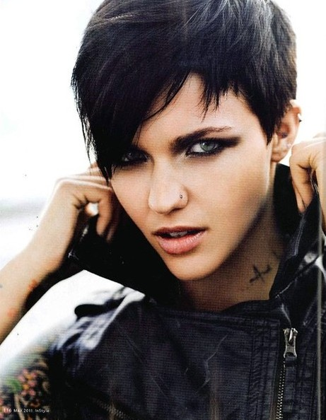 Edgy Pixie Haircuts, Straight Short Hair