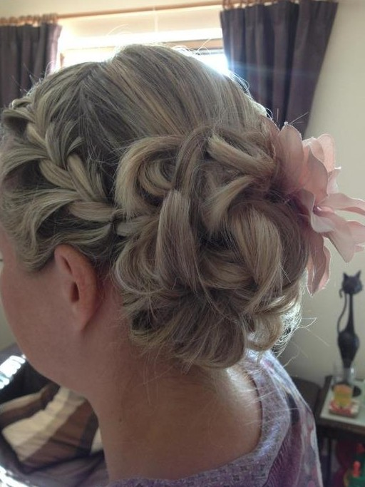 French Bun Hair Up Dos For Medium Hairstyles