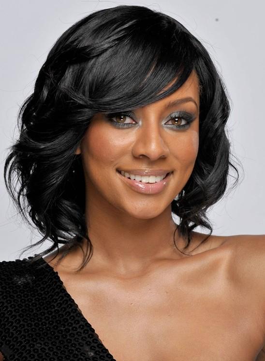 Hairstyles for Medium Length Hair,Black Hair
