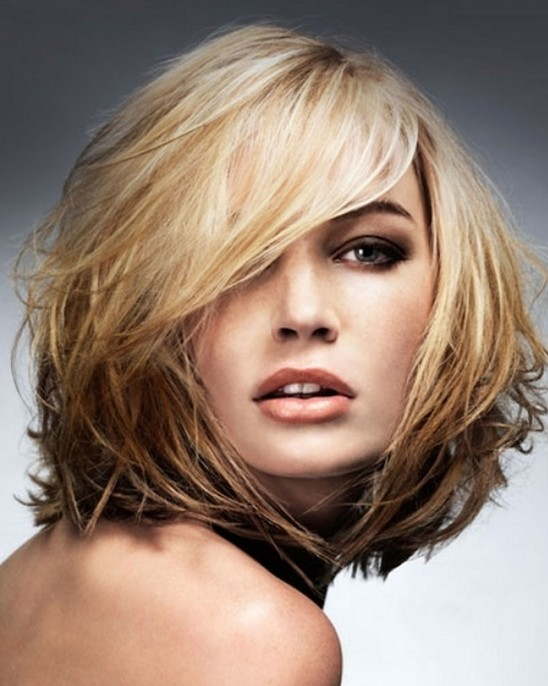 haircut styles for mid length hair medium length hairstyles for thick hair new style 5638