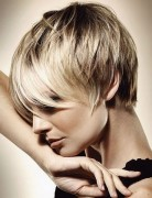Layered Pixie Haircut, Straight Short Hair