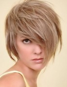 Medium, Short Hairstyles, Tousled Haircuts