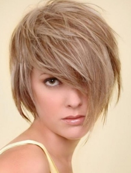 Medium Short Hairstyles Tousled Haircut PoPular Haircuts