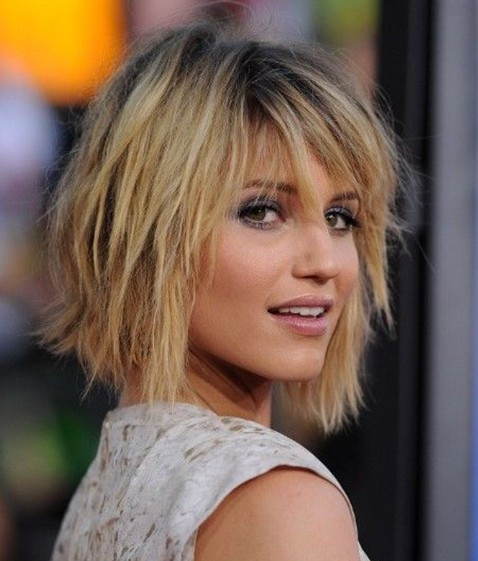 Messy, Layered Hairstyles For Thin Hair