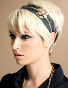 Pixie Haircut with Cute Accessories