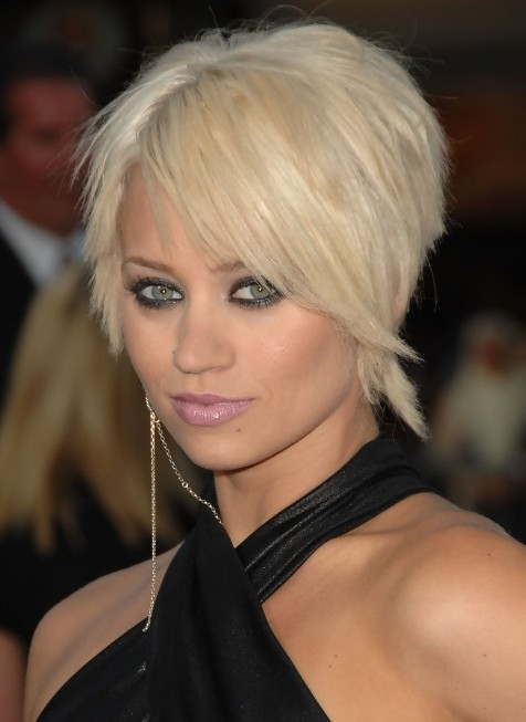 Pixie Haircuts with Side Swept Bangs