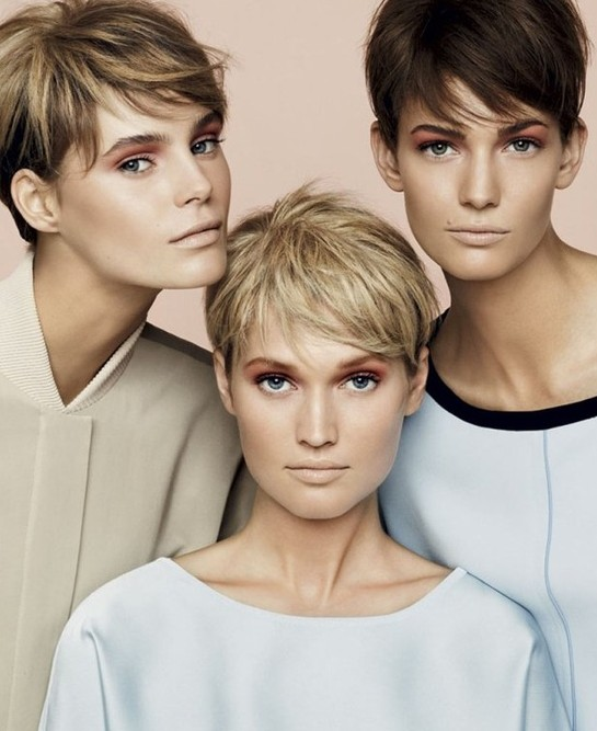 Short Pixie Haircuts, Straight Hair