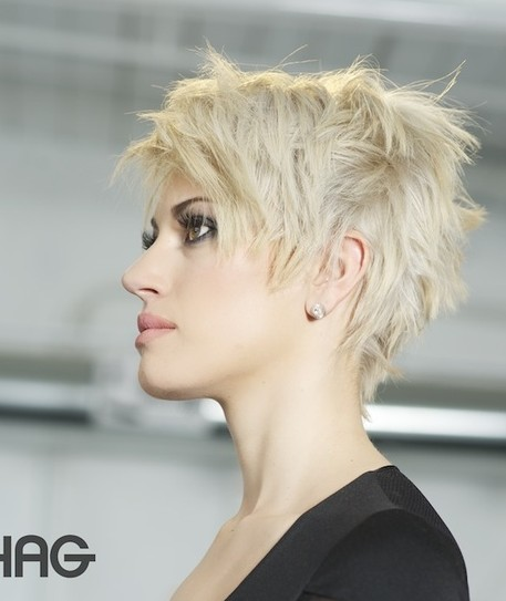 Short Pixie Hairstyles, Cropped Haircut