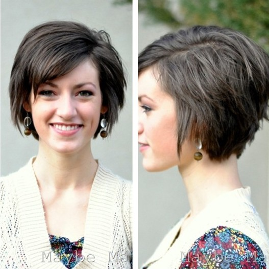 Short Hairstyles for Oval Face Hair