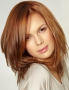 Simple Hairstyles for Girls, Medium Straight Hair