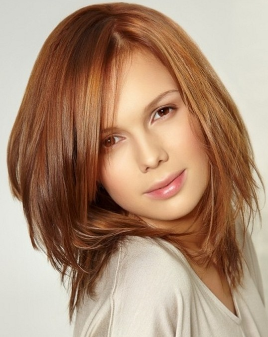 Simple Hairstyles For Girls Medium Straight Hair Popular Haircuts