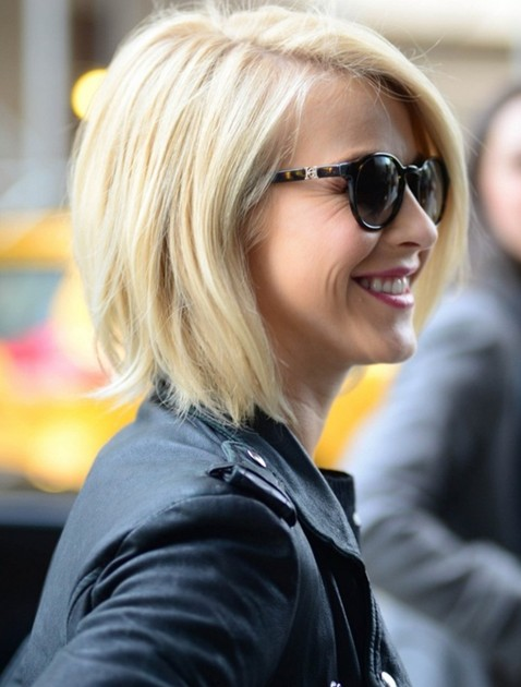 Straight Bob Hairstyles, Blonde Short Hair