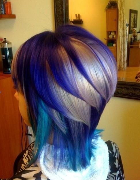 Straight Ombre Hair for Medium Length
