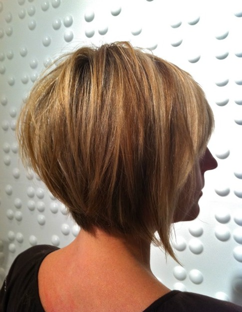 Tapered Bob Haircuts, Ombre Short Hair