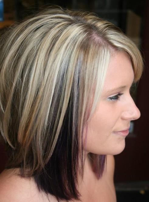 Trendy Hair Color for Medium Length Hair