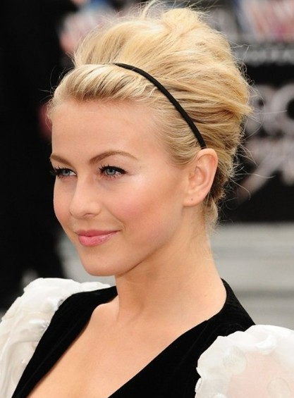 Awesome Hairstyles For Shoulder Length Hair Updos Short Hair Fashions Short Hairstyles Gunalazisus