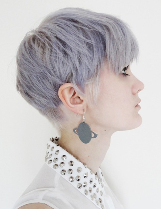 Adorable Short Haircut, Layered Hairstyles