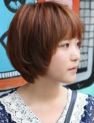 Asian Hairstyles for Girls, Short Straight Hair