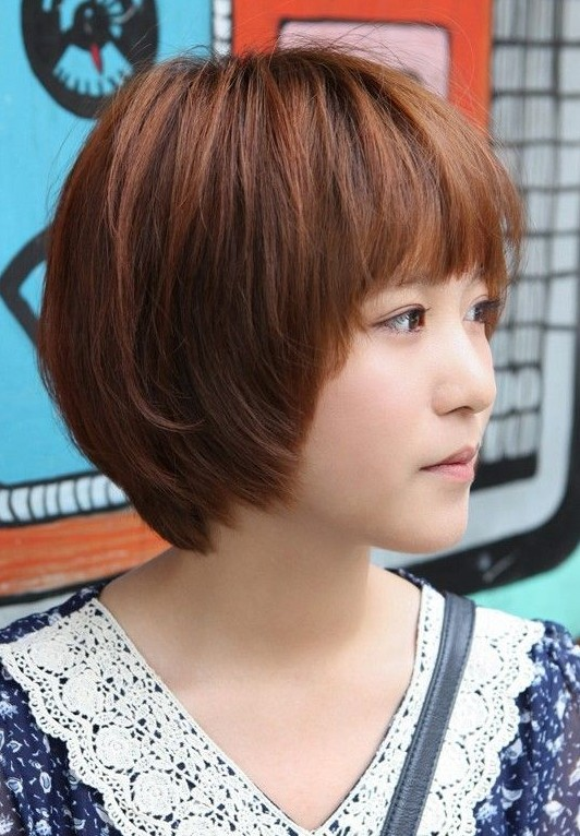 Asian Hairstyles for Girls: Short Straight Hair - PoPular ...