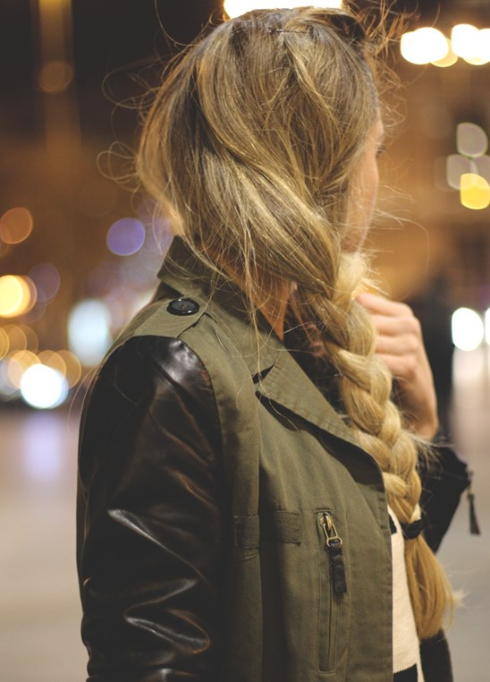 Easy Side Braid Hairstyle