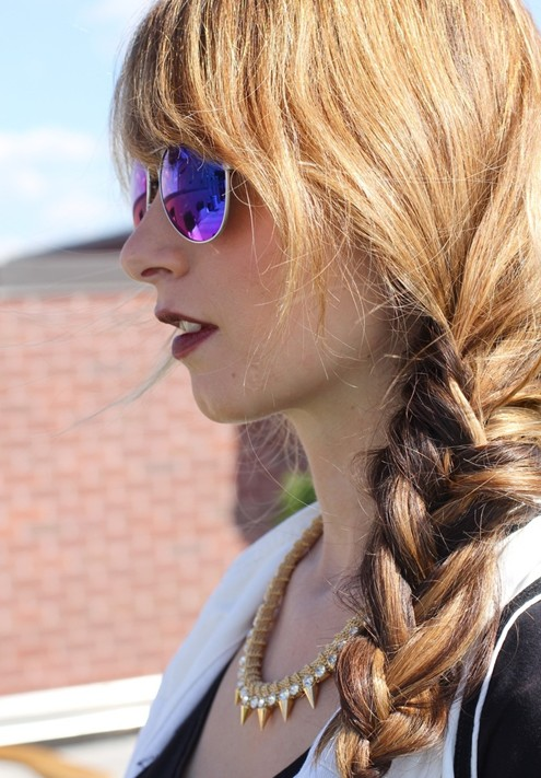 Easy Side Braid Hairstyles