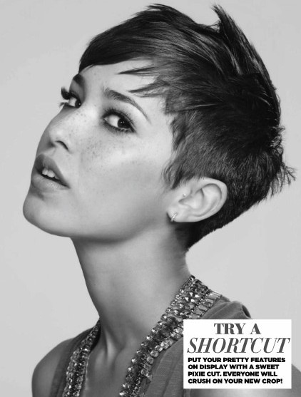 Edgy Short Hair: Pixie Haircuts - PoPular Haircuts