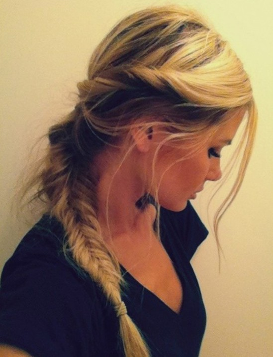 Fishtail Side Braid Hairstyles
