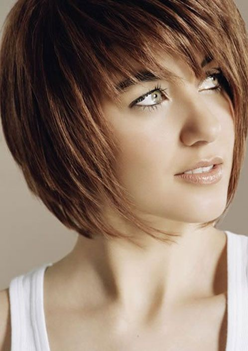 Short Cropped Bob, Straight Haircuts
