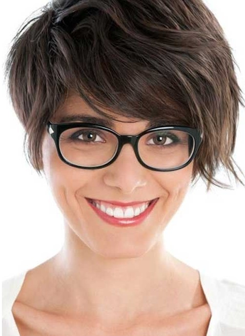 Short Hairstyles For Thick Hair Cute Haircut Popular Haircuts