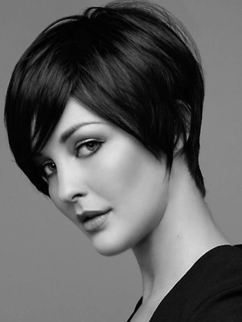 Short Black Haircuts Women 72