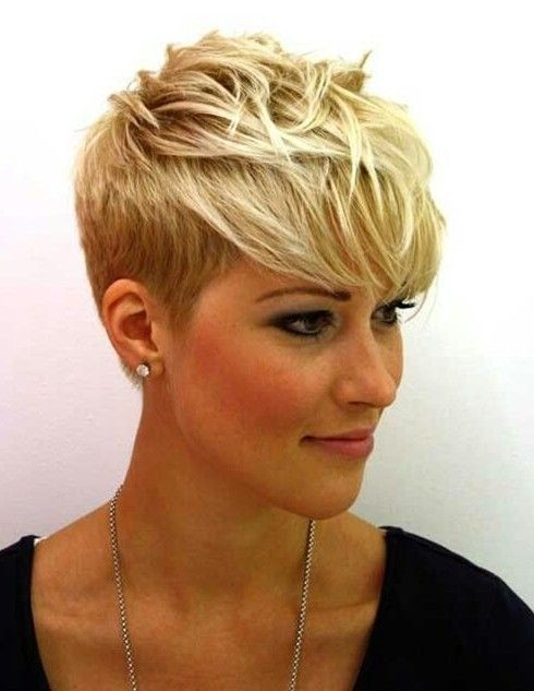 Short Layered Pixie Hair Cut: Fine Hair