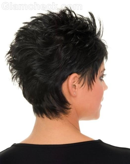 Short Messy Hairstyles, Black Hair