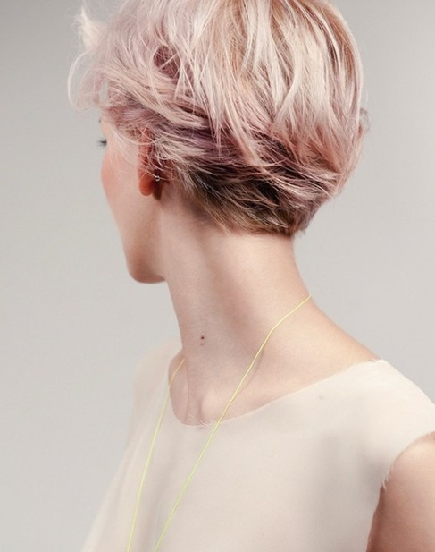 Trendy Short Hair Color, Cute Hairstyles