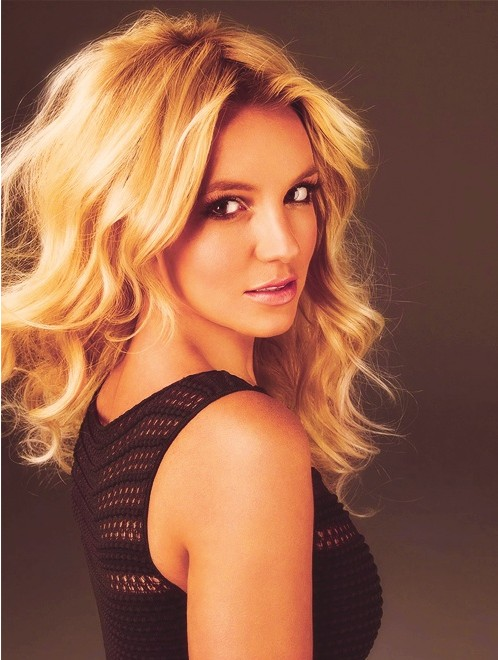 Blonde Mid Length Hairstyle Britney Spears Hair Popular