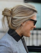 Casual Easy Updos, Bar Refaeli Hair Styles