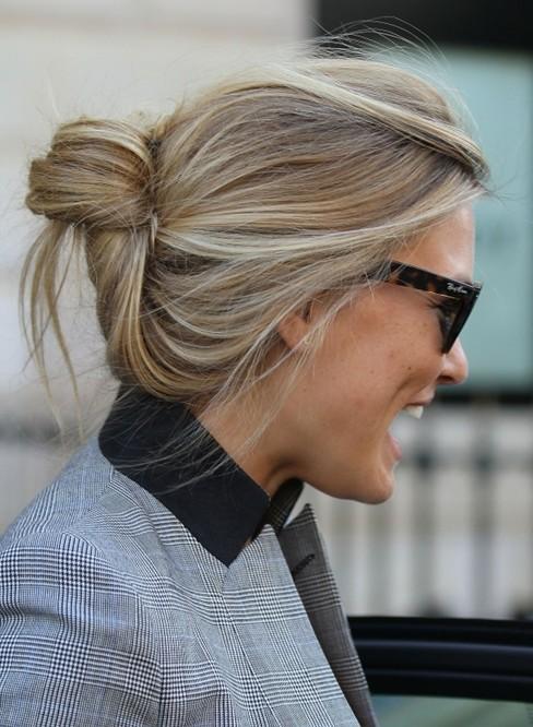 Casual Easy Updos, Bar Refaeli Hair Styles