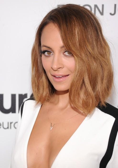 Chic Medium Length Hairstyles Nicole Richie Hair Popular Haircuts